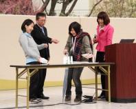 危機管理アドバイザー国崎信江さんによる地震のお話と防災クイズ